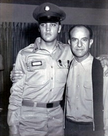 Elvis and Eddie in army